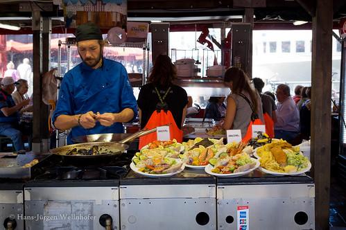 Auf dem Fischmarkt in Bergen