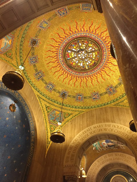 #Beautiful #Catholic #Church. 💒 Basilica of the National Shrine of the Immaculate Conception. #sfamilytravels #Washington D#DC