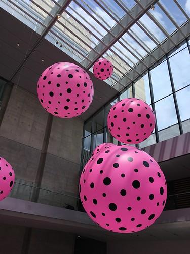 Yayoi Kusama exhibit at the Cleveland museum | by DanCentury