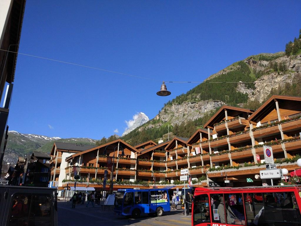 Vistas desde Gornergrat (Suiza)
