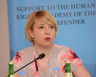 """სახალხო დამცველის ადამიანის უფლებათა აკადემიის """"კვლევა ადამიანის უფლებების სწავლებისა და სასწავლო გარემოს შესახებ ზოგადსაგანმანათლებლო სივრცეში""""  25.06.18"""