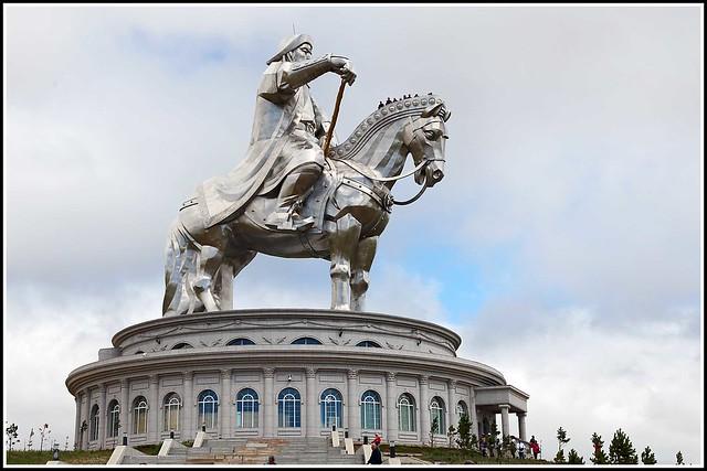 Chenggis Khan monument