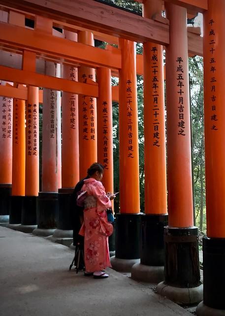 At the shrine