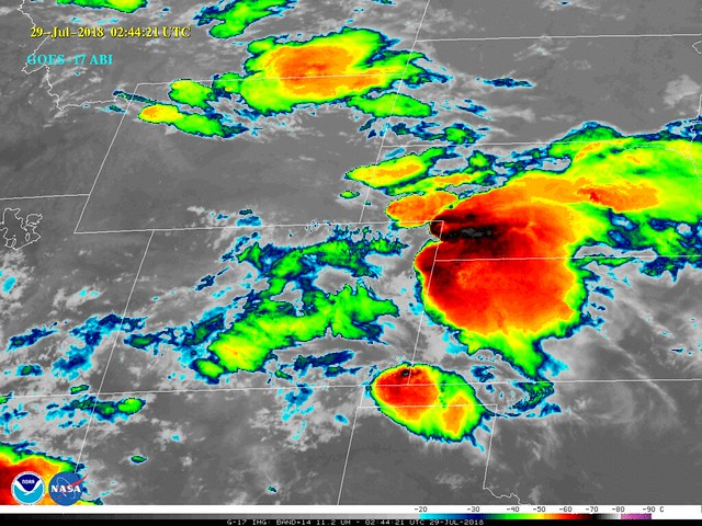 NOAA Shares First Infrared Imagery from GOES-17