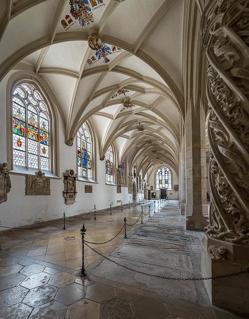 Kreuzgang im Eichstätter Dom