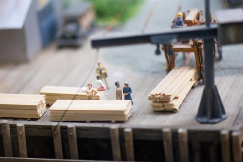 Loading tiny lumber