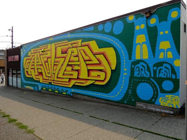 Snack Land Mural