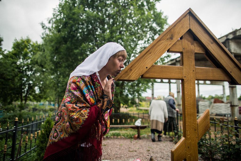 25 июня 2018, Богослужение в деревне Бегуницы / 25 June 2018, Divine service in Begunitsy Village