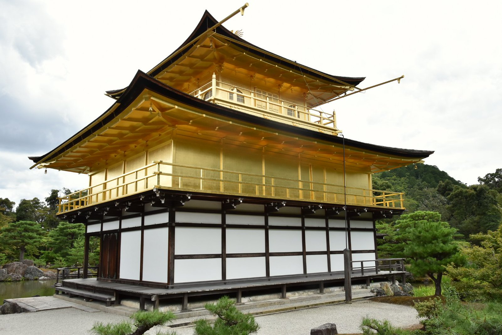 Kyôtô - Kinkaku-ji, le Pavillon d'Or