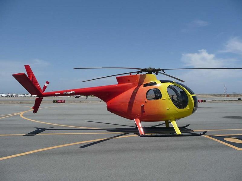 Hughes OH-6A Cayuse 1
