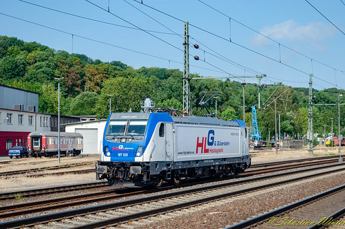 187 320-7 Tfzf durch Eisenach am 02.08.2018 | by Photography Sebastian Winter