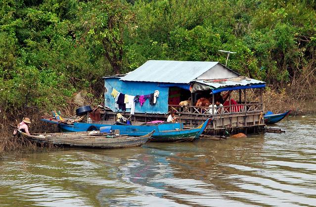 Cambodian Jungle Home