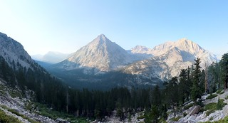 0401 East Vidette Peak - 12356 feet elevation, with West Vidette (12533 ft) on the right | by _JFR_