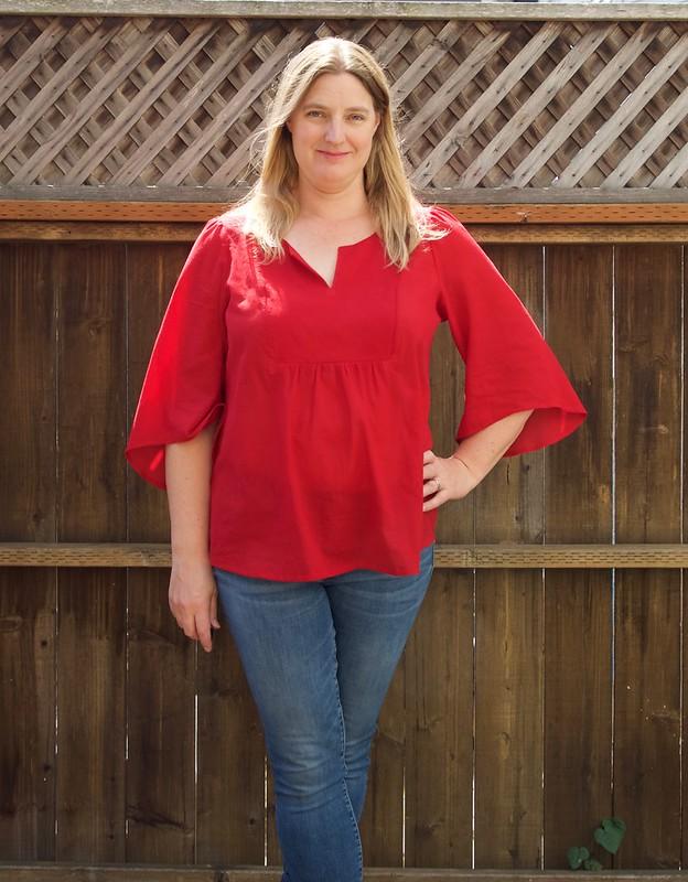 Phoenix blouse_front-5