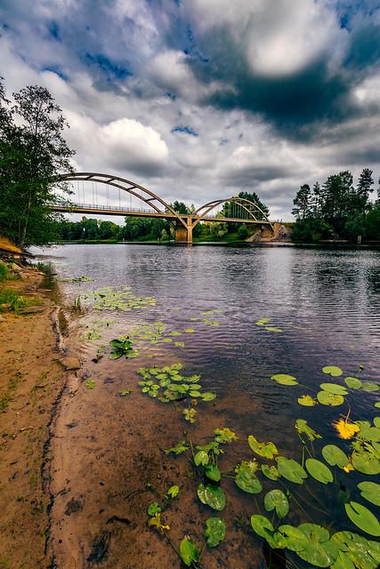 Bridge over Klarälven River