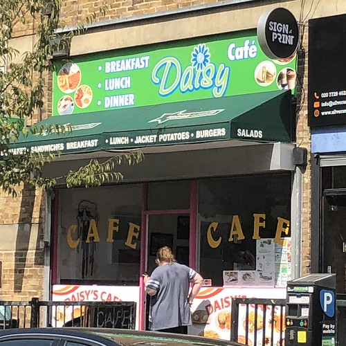 Daisy Cafe, Hoxton | by russelldavies