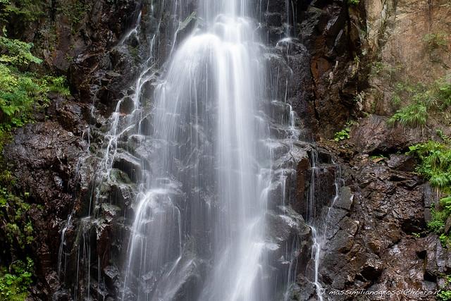 Predazzo: passeggiata della cascata