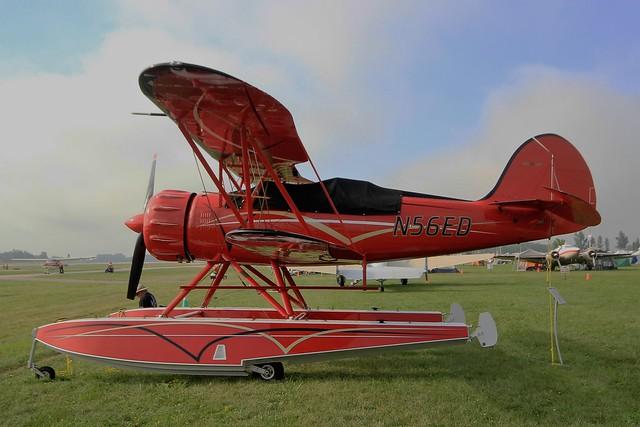 N56ED .Waco YMF-F5C