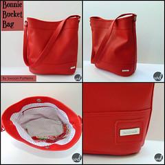 Lady in Red... Bonnie Bucket bag