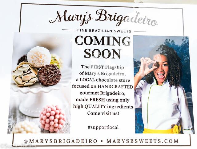 Mary's Brigadeiro Handmade Brazilian Chocolate Soft Launch