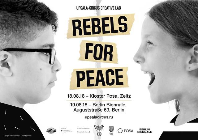 Maria Zaikina and Miron Epshtein | poster for Upsala-Circus