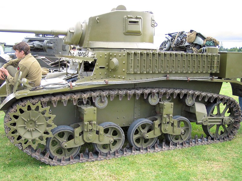 М3 Stuart Light Tank 4