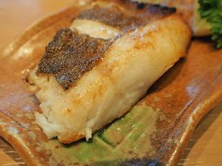 Grilled Atlantic Flatfish from the Karasu Karei Teriyaki Zen set meal | by huislaw