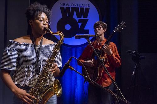 School Grooves series at the WWOZ studio on June 25, 2018. Photo by Ryan Hodgson-Rigsbee RHRphoto.com