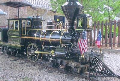 The San Antonio Zoo Train San Antonio Texas June 2014