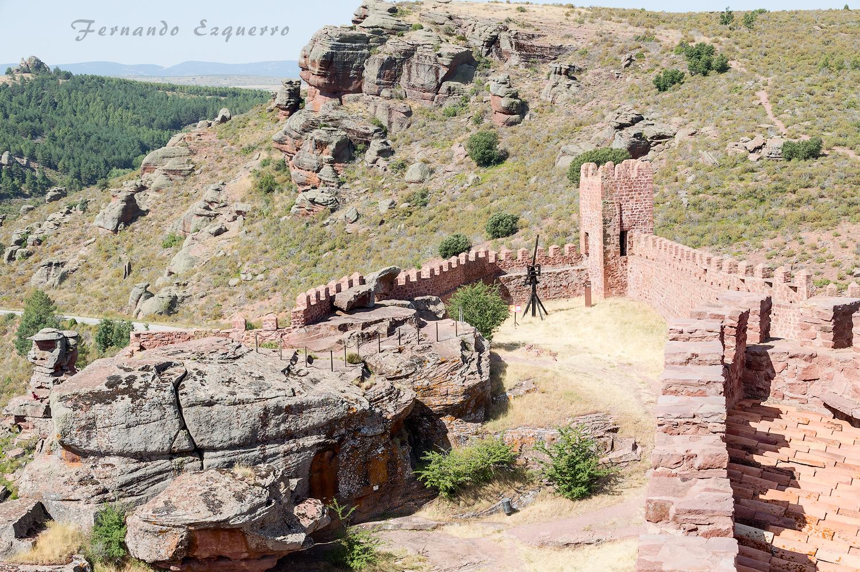 Vistas desde el Castillo de Peracense