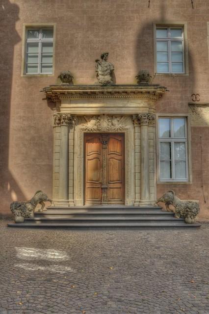 Eingangs Tor Schloss Gemen