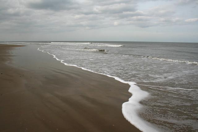 The beach at Holkham, Norfolk