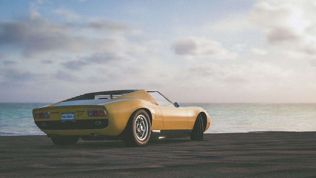 The Crew 2 | Lamborghini Miura SV | Captured on PC, via in-g… | Flickr