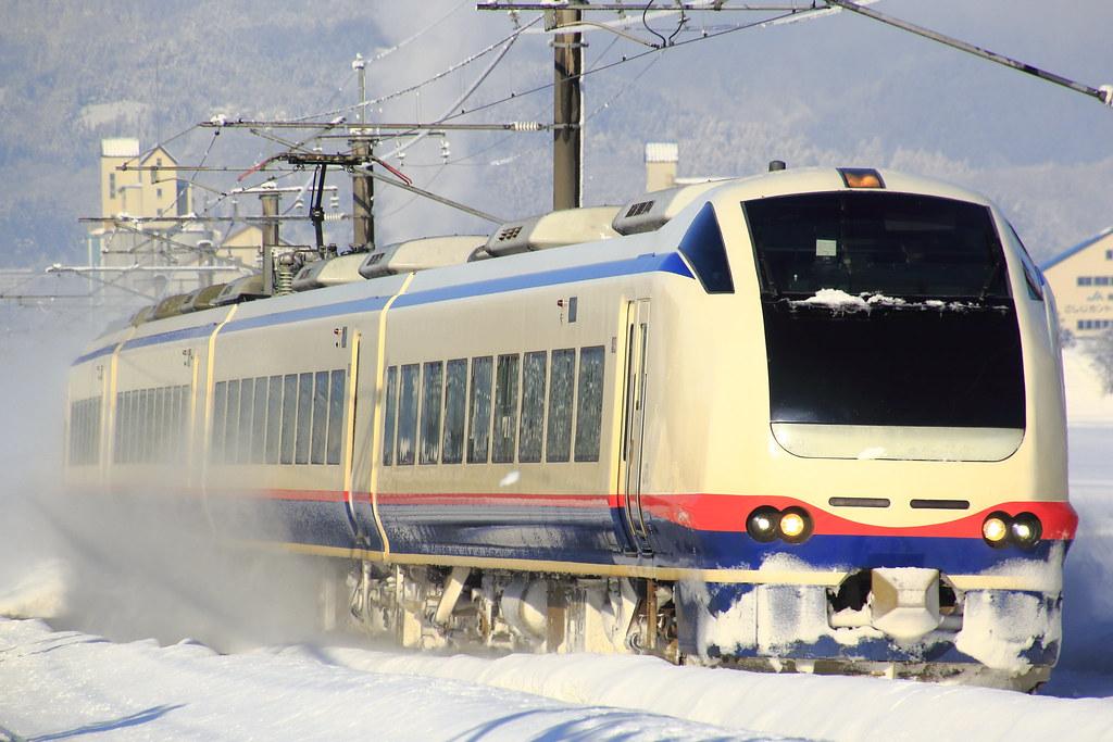 """JR Series E653 H-201 """"Shirayuki"""""""