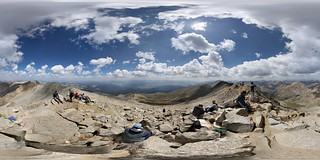 360 degree view on top Mt Massive | by daren.nkomo