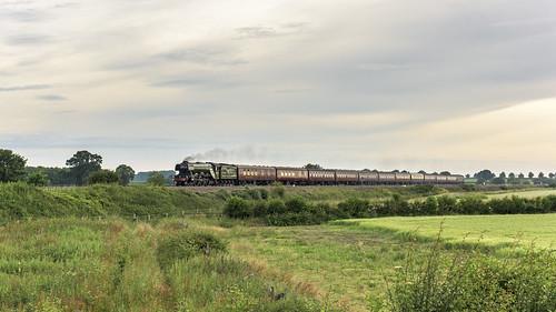 60103 england europe exlner flyingscotsman lnerclassa3 northyorkshire railways steam transport unitedkingdom boltonpercy gbr scarboroughflyer rytc wcrc