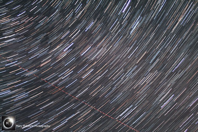 22 Minute Star Trails 10th/11th August 2018