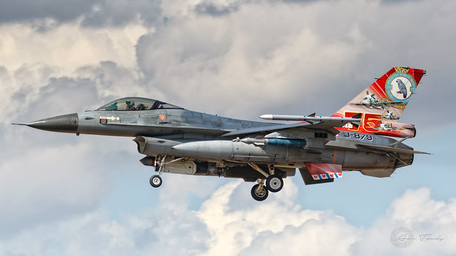 Royal Netherlands Air Force F-16AM J-879