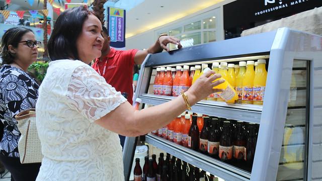 Productores beneficiados con Visitas Sorpresa participan en Mercado Central Ágora Mall