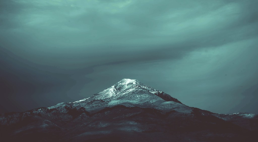 Dark Clouds And Mountain 4k Wallpaper Download This Wallpa Flickr