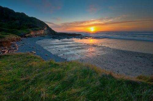 beach coast hdr karl landscape ocean sunset travel oregon portfolio usa