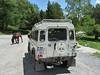 Do NP Aigüestortes i Estany de Sant Maurici se jezdí ve starém Land Roveru, foto: Petr Nejedlý