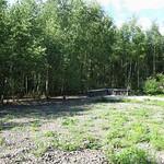 Reste der Gleisanlage im Gleispark Frintrop
