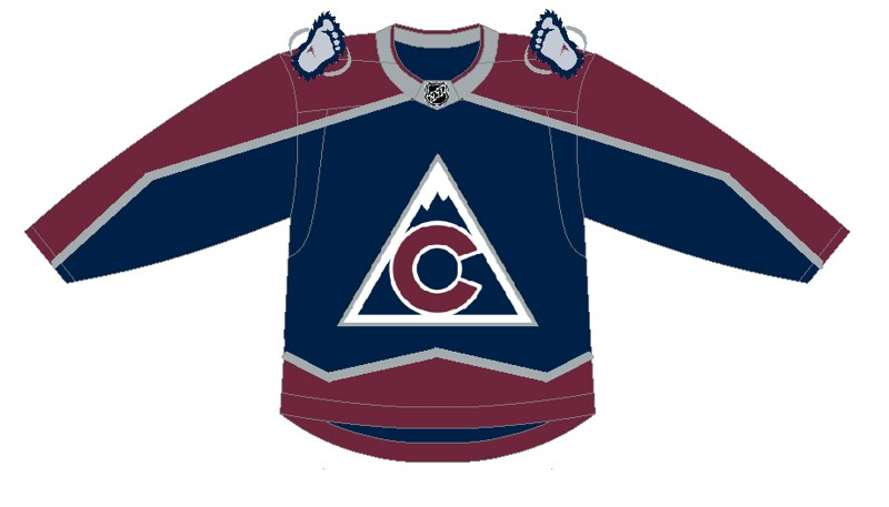 brand new 9c0b9 9516b Reinventing NHL Third Jerseys: Central Division | Zone Coverage