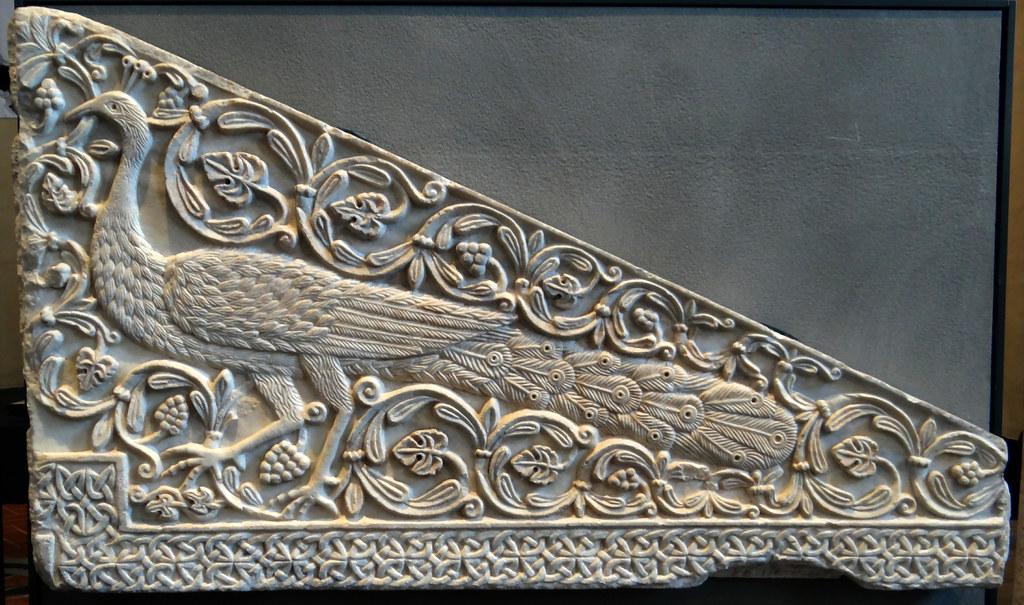Museo Santa Giulia Brescia.Brescia Museo Santa Giulia Fragment Of A Trapezial Slab Flickr