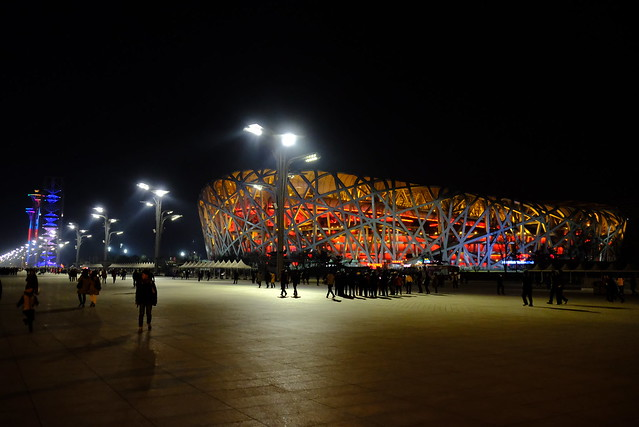 XE3F1220 - 鸟巢 - Niǎocháo - El Nido del Pájaro - Estadio Nacional - Bird's Nest - National Stadium
