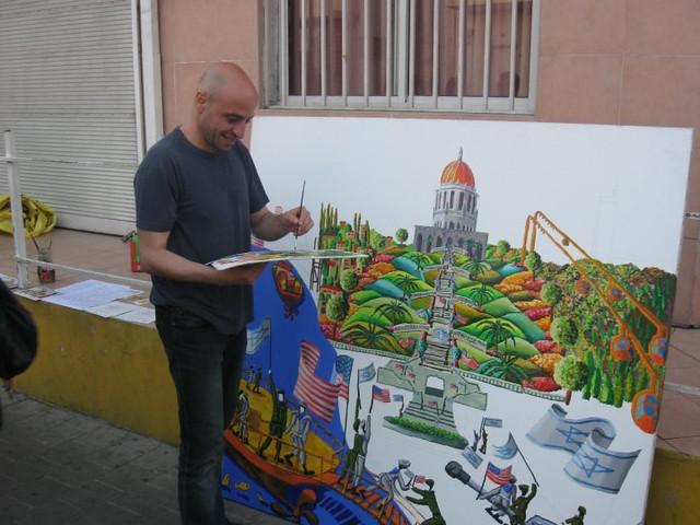 λαϊκός ζωγράφος λαϊκός καλλιτέχνης πρωτόγονος ζωγραφική τέχνης raphael perez καλλιτέχνες ζωγράφους naive  painters landscape  artists