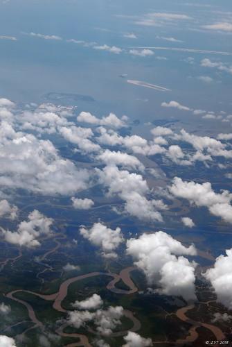 zeesstof aerial aerialview viewfromwindow windowseat flight commercialflight united unitedairlines mobilealabamatohoustontexas