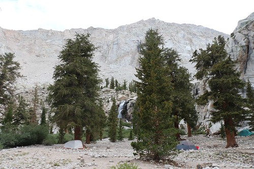 1831 Outpost Camp and the waterfall on Lone Pine Creek from the Mount Whitney Trail | by _JFR_