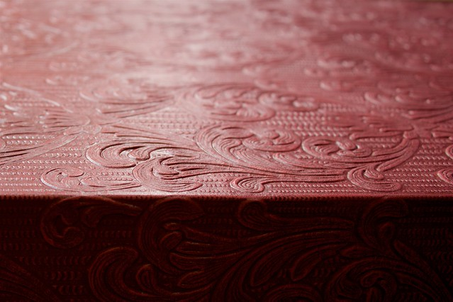 Textural Abstract in Leather